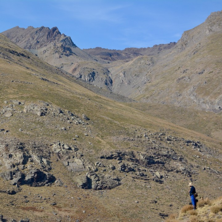 hiking with kids las aplujarras poqueira gorge sheperd