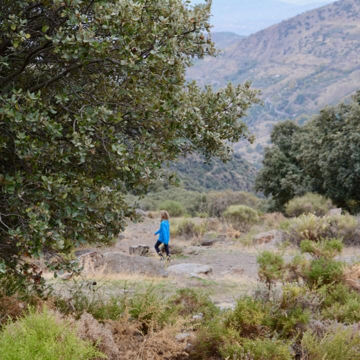 hiking with kids las aplujarras capileira route