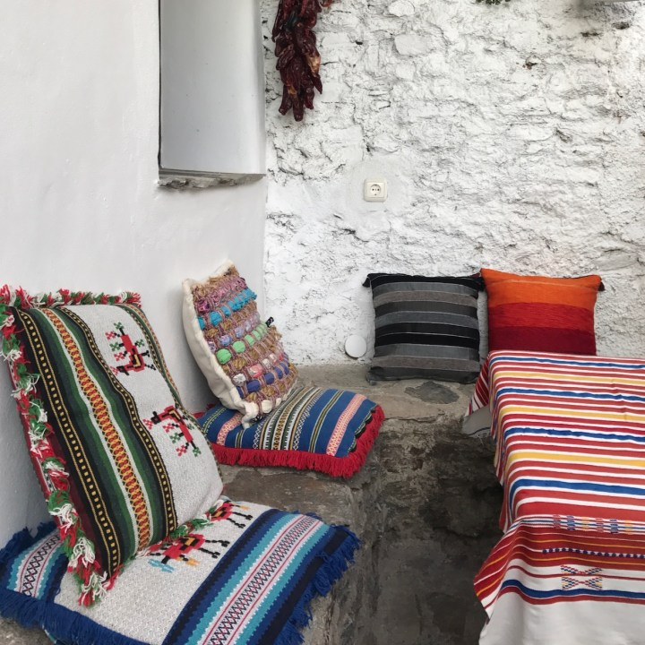 las alpujarras with kids bubion pillows