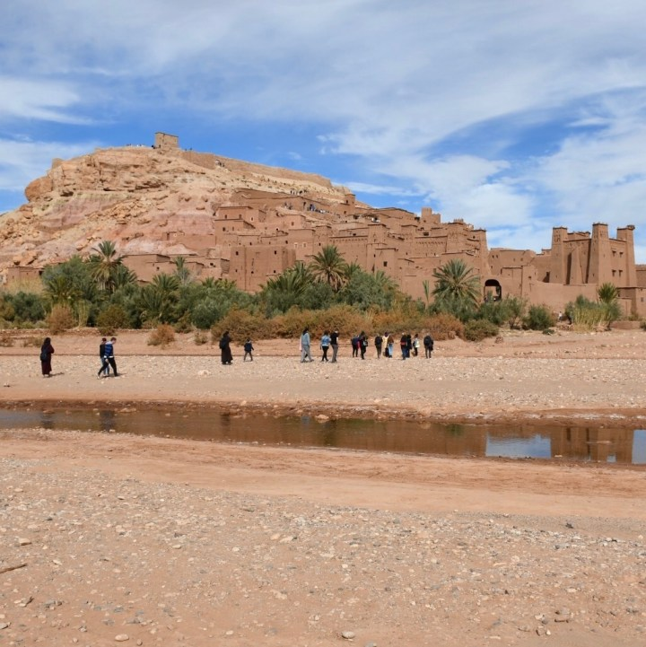 Morocco with kids atlas mountains Ait Benhaddou