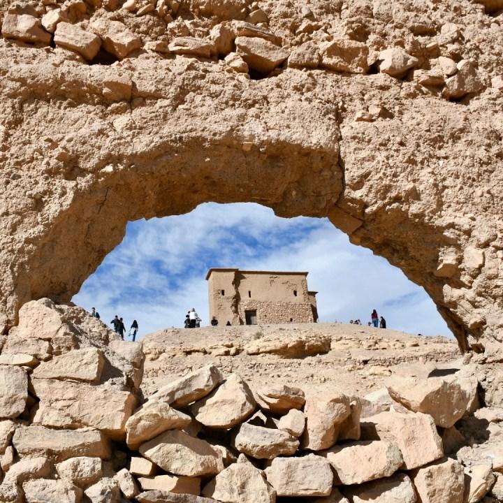 Morocco with kids atlas mountains ruin