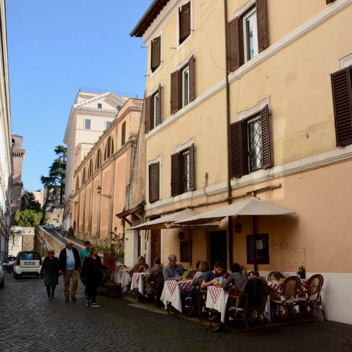 rome with kids restaurant
