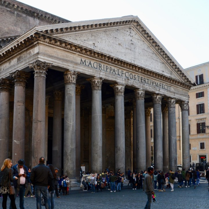 Rome with kids pantheon