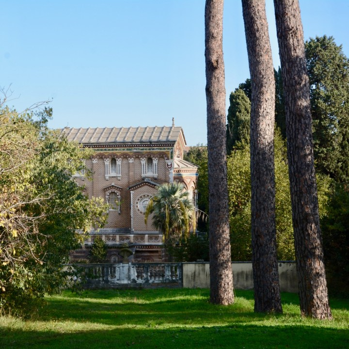 Rome with kids park villa doria pamphili