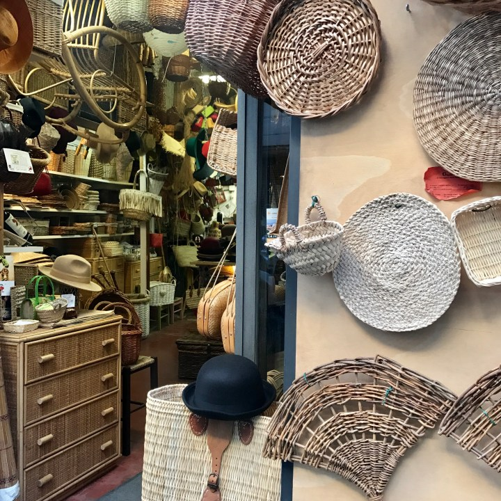 Rome with kids basket shop