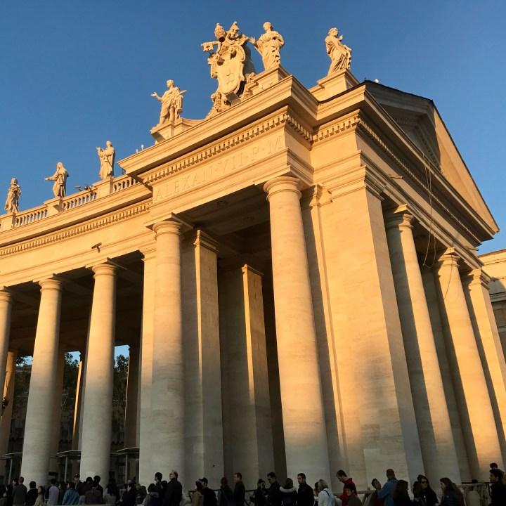 Rome with kids Vatican queue