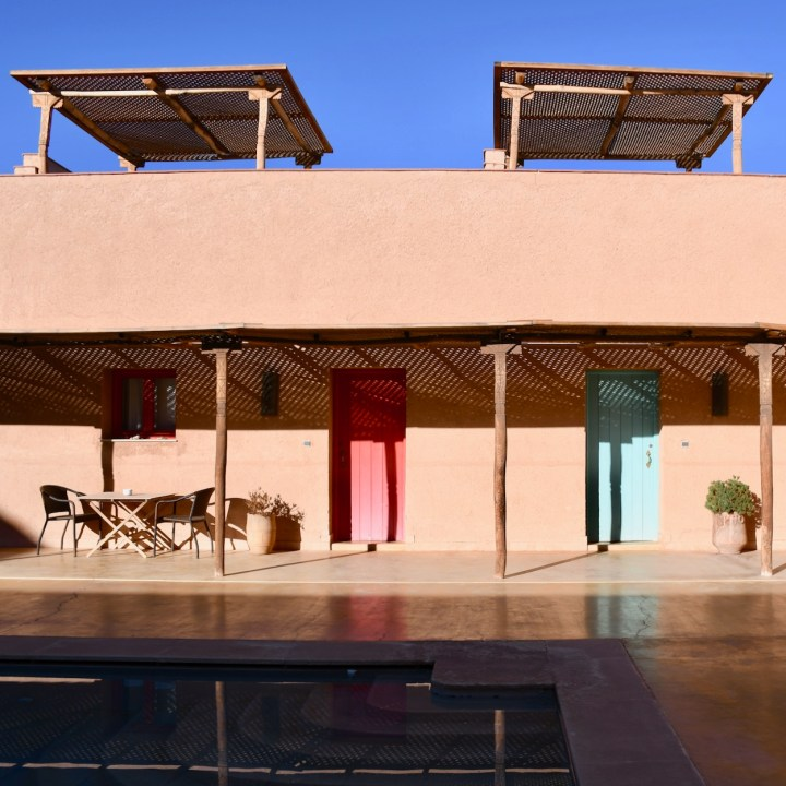 ouarzazate with kids Morocco cote sud hotel rooms