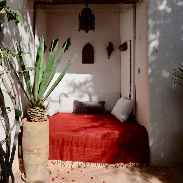 Morocco with kids hotel caravanserai