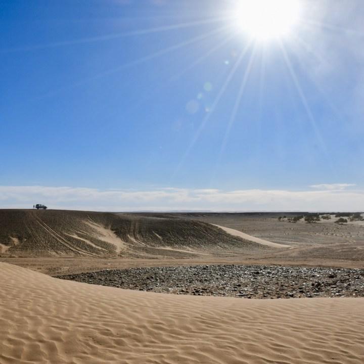 sahara desert erg chigaga with kids explorers