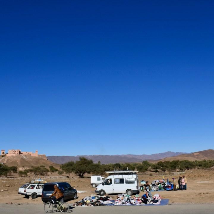 Morocco with kids drive M'Hamaid agdz souk