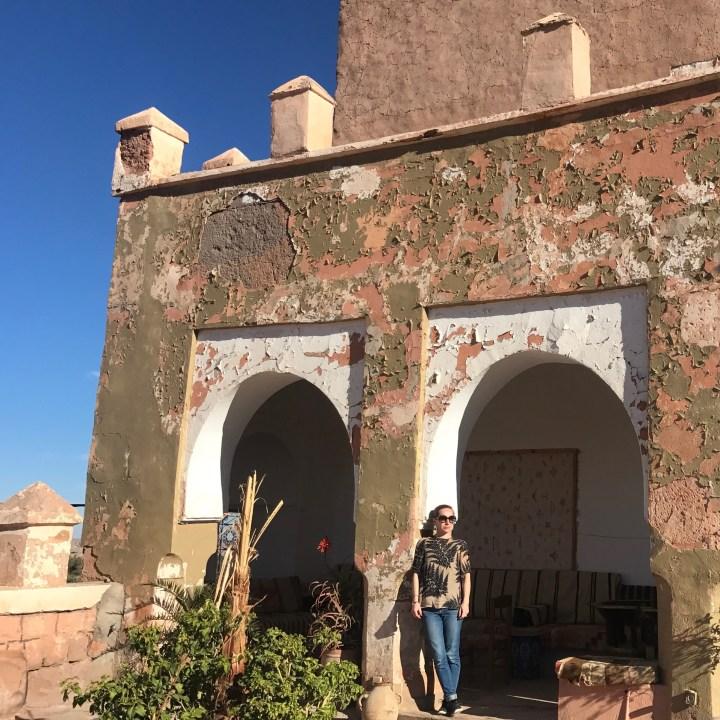 Tifiltoute with kids Morocco sun worship