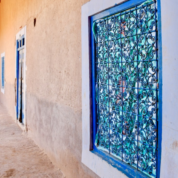 kasbah caids with kids Morocco windows