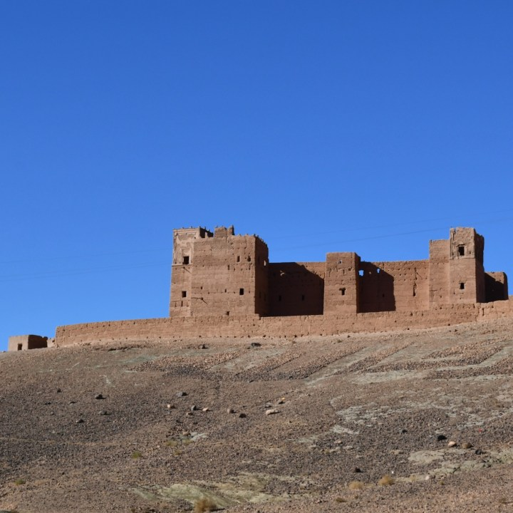kasbah caids with kids Morocco taenougalt
