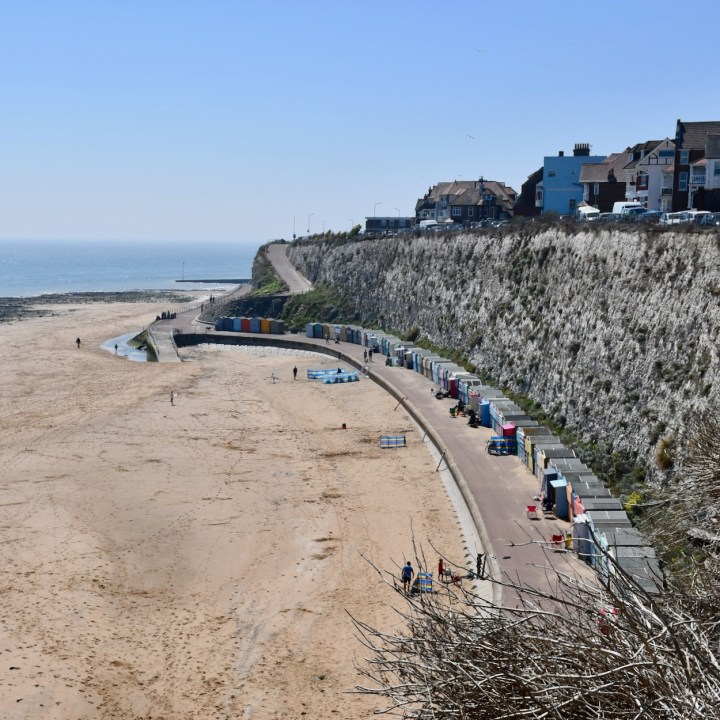 Broadstairs with kids stone bay