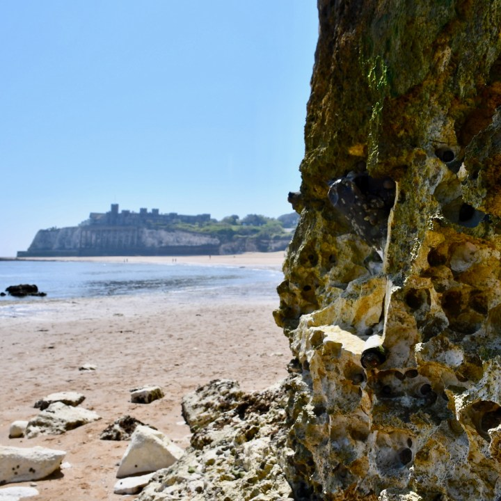 Broadstairs with kids castle view