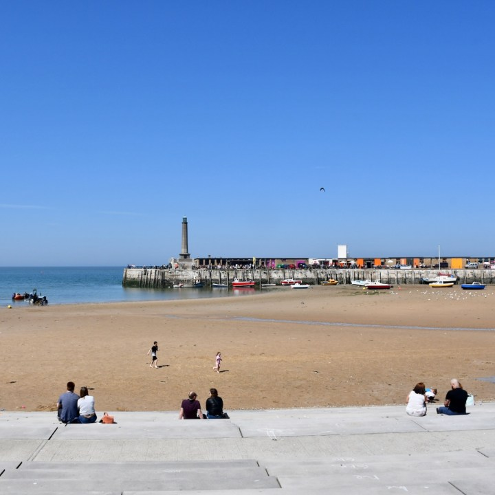 Broadstairs with kids margate port