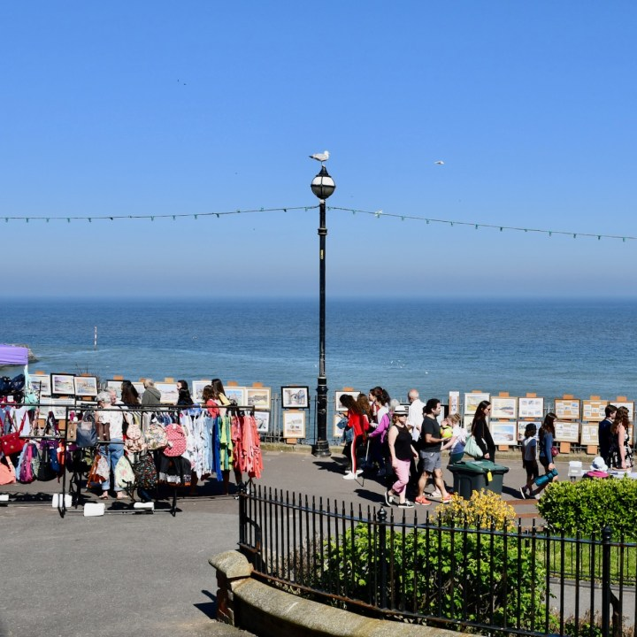 Broadstairs with kids British seaside market