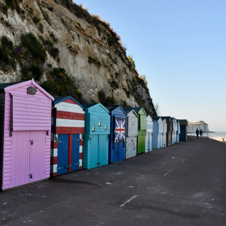 british seaside with kids broadstairs beach huts