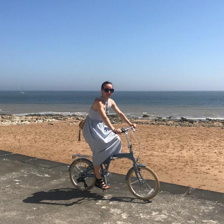 Broadstairs with kids British bike ride