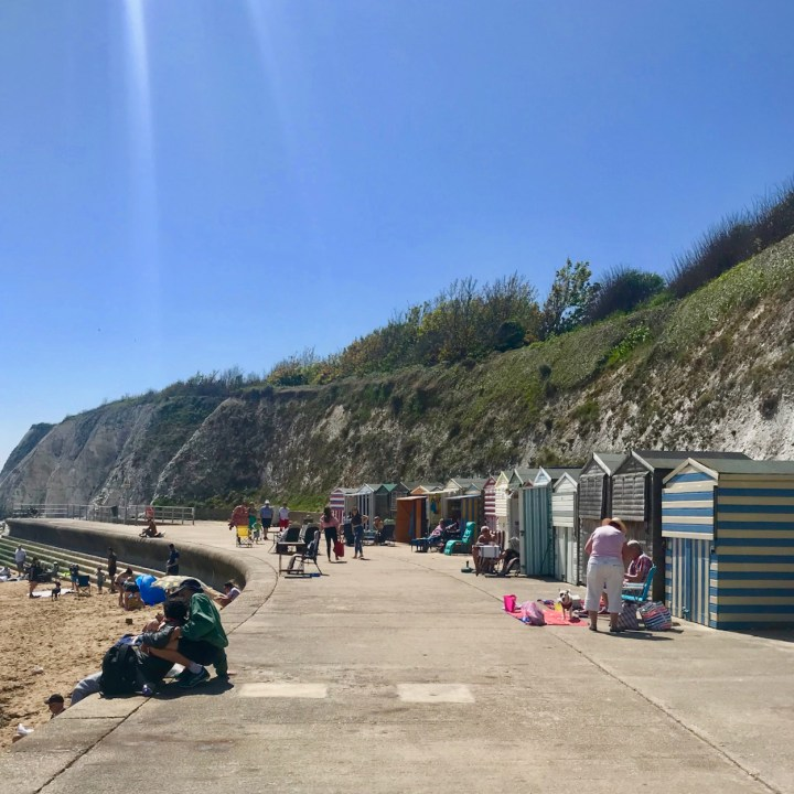 Broadstairs with kids British beach hut life