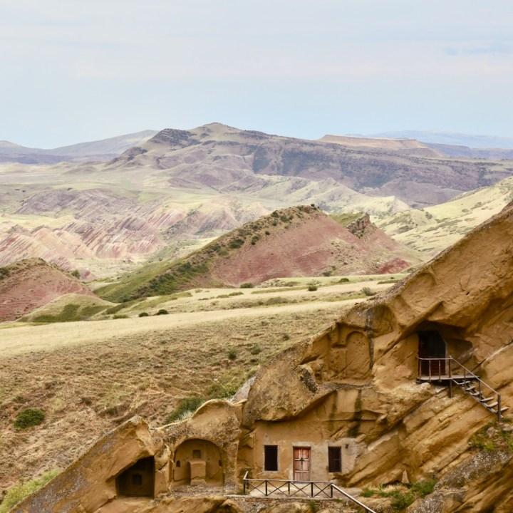 David Gareji Monastery with kids cave houses