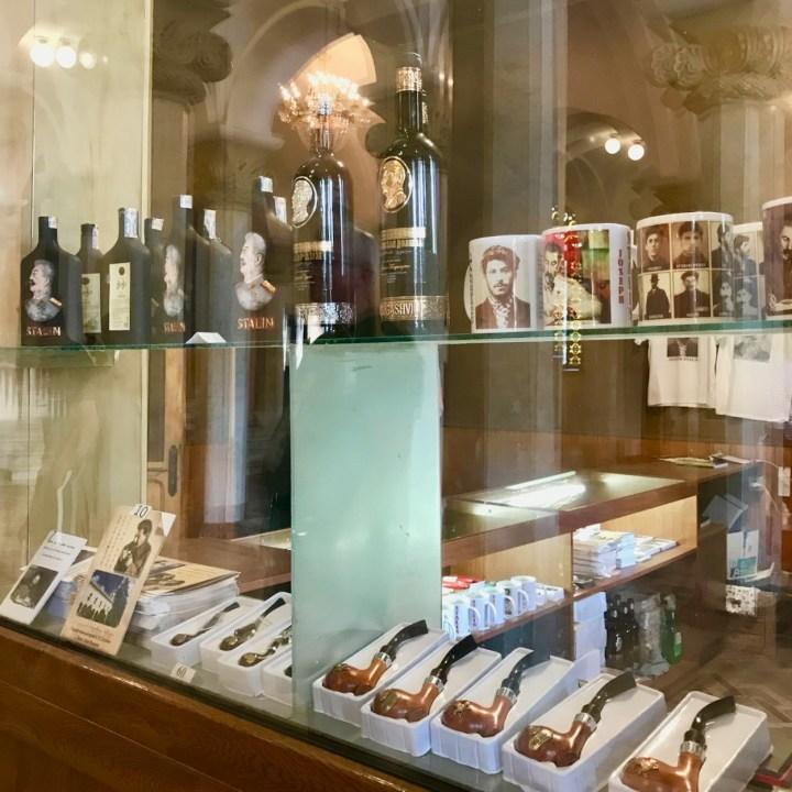 Gori Stalin Museum with kids souvenirs