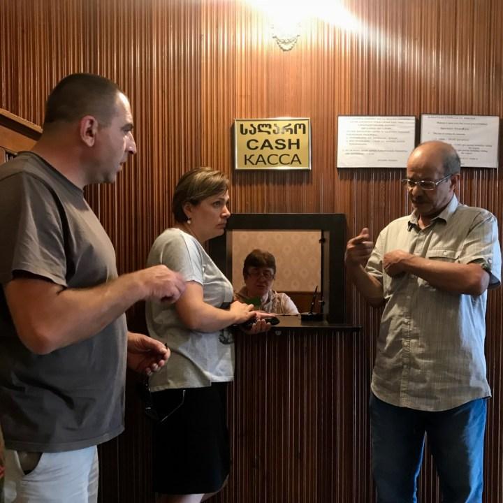 Gori Stalin Museum with kids ticket office