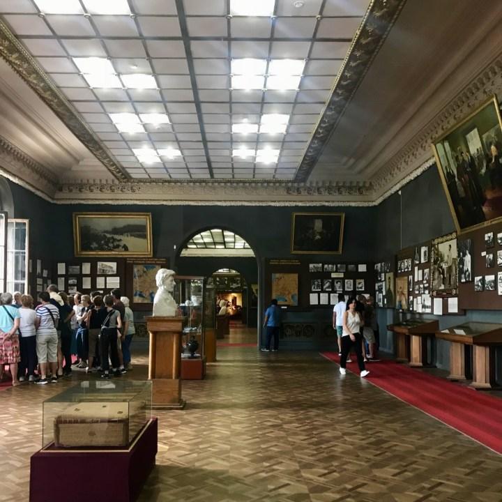 Gori Stalin Museum with kids timeline
