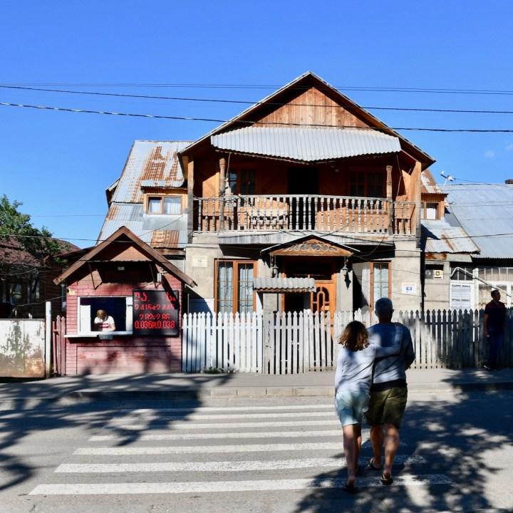 Bakuriani ski resort Georgia with kids architecture