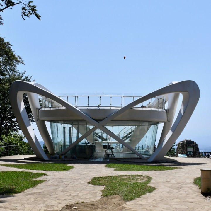 Sataplia Nature Reserve Georgia exhibition hall