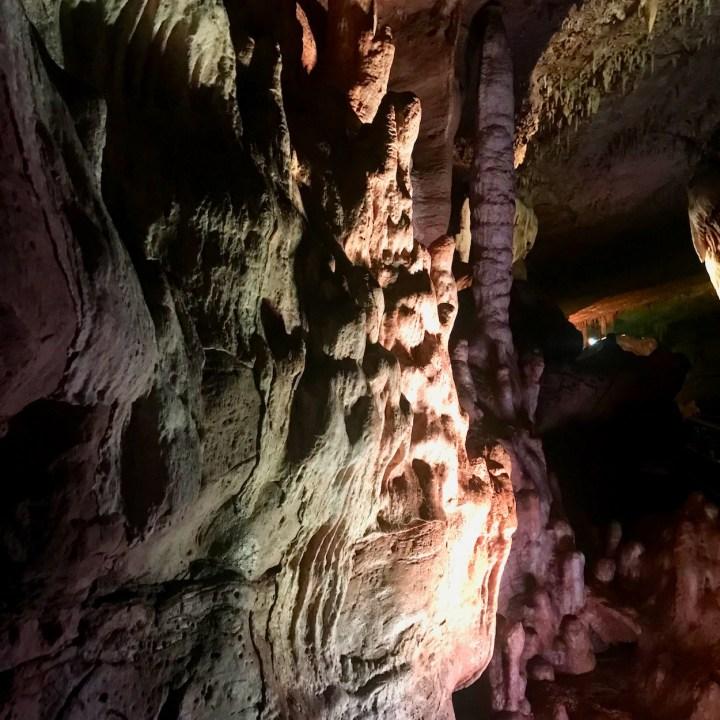 Sataplia Nature Reserve Georgia stalagmites