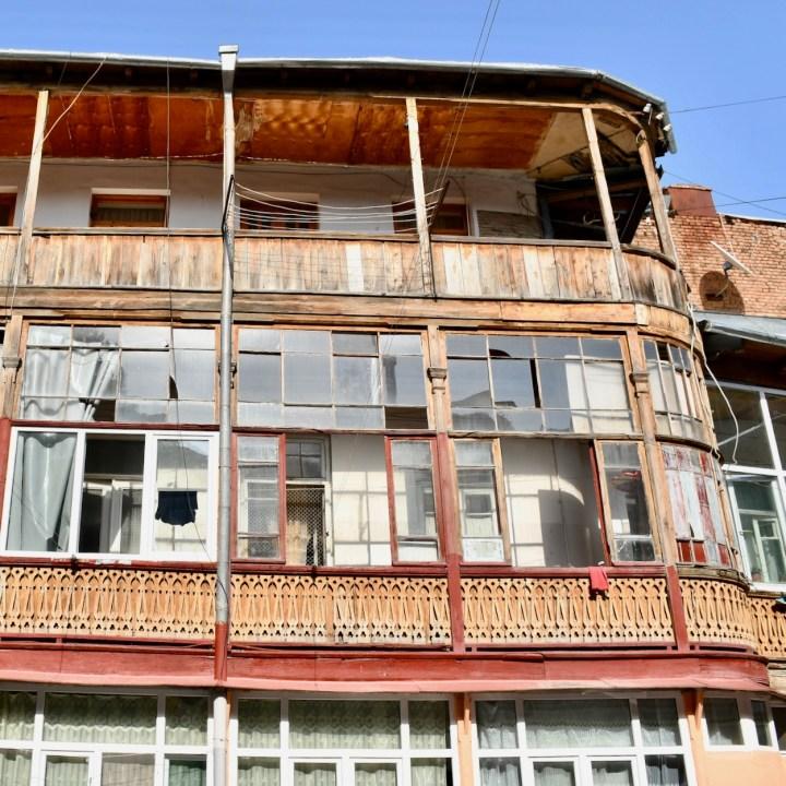 Tbilisi Sololaki balcony
