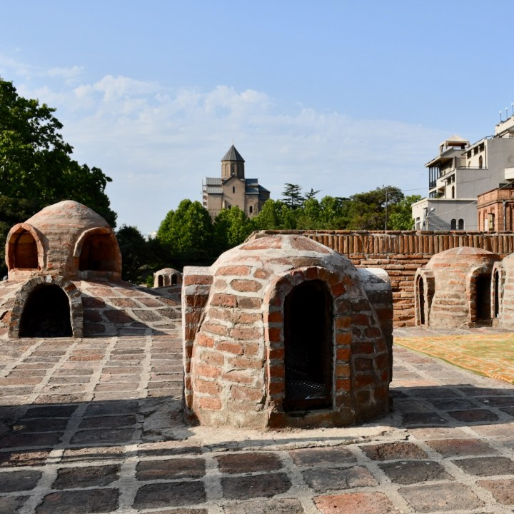 Tbilisi bathhouses brick domes