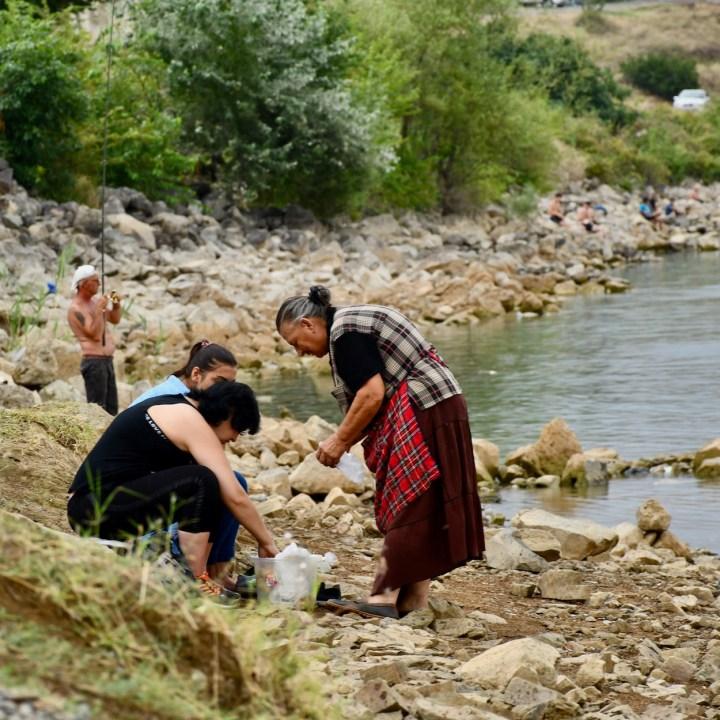 Tbilisi Sea local women