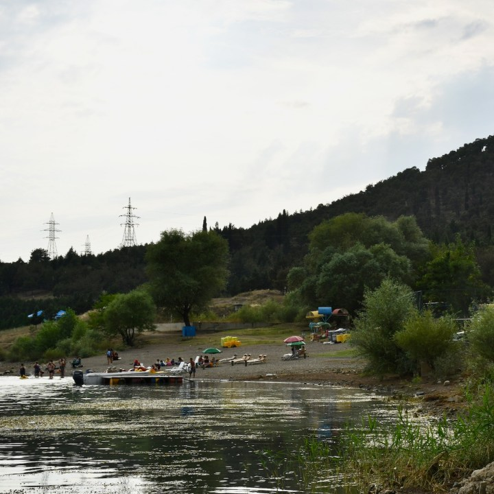 Tbilisi Sea beach club view