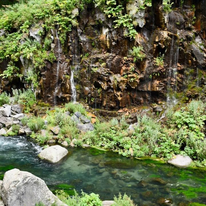 Dashbashi canyon scenic place