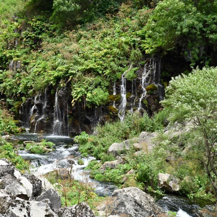 Dashbashi canyon marvellous waterfall