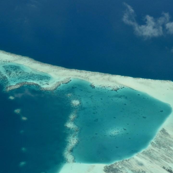 Maldives atoll views