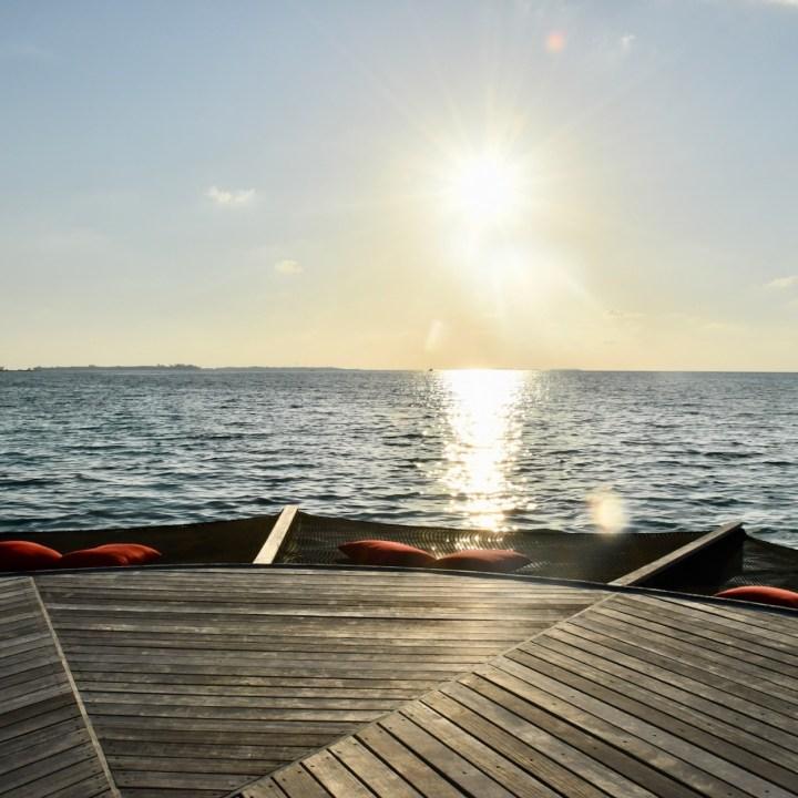 Lux South Ari beach rouge hammocks