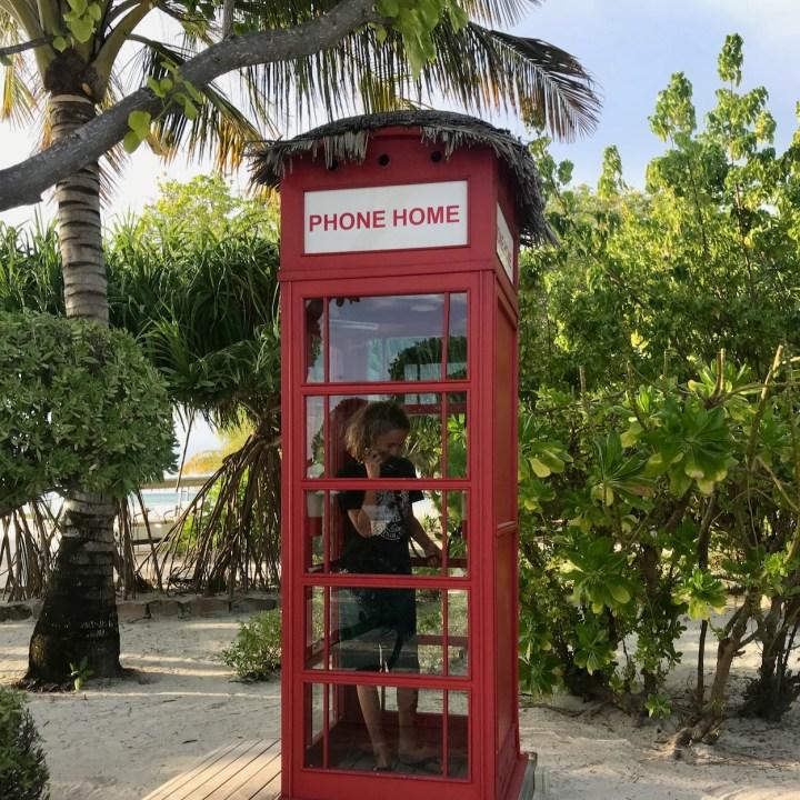 Lux South Ari telephone box