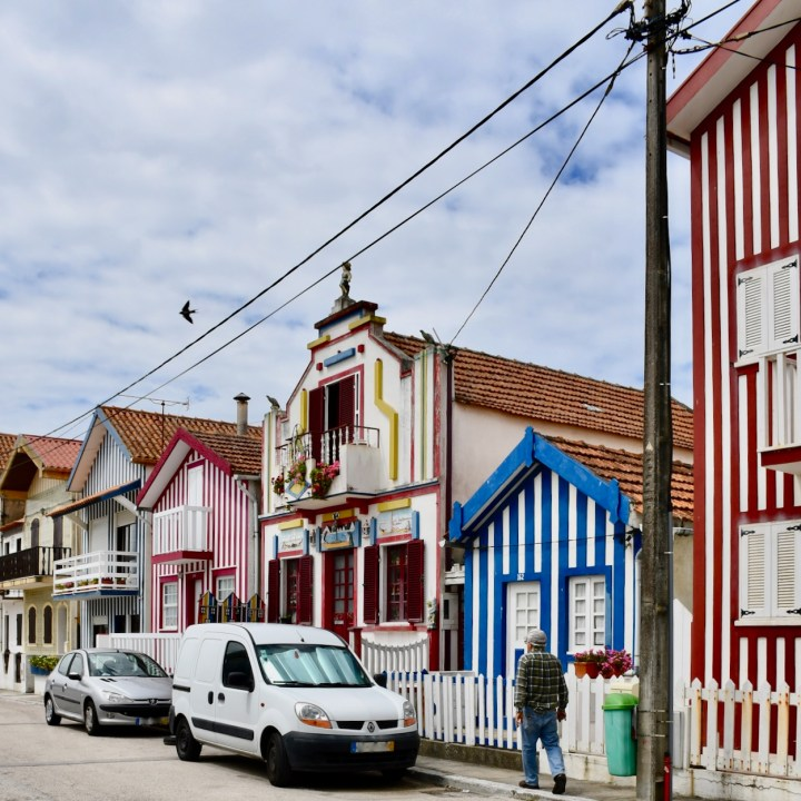 Costa Nova Portugal street scene
