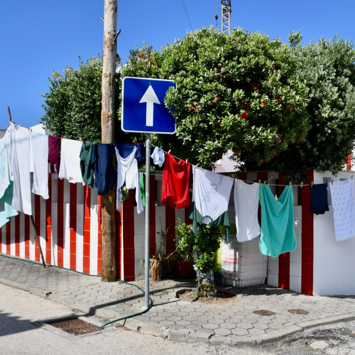 Costa Nova Portugal street view