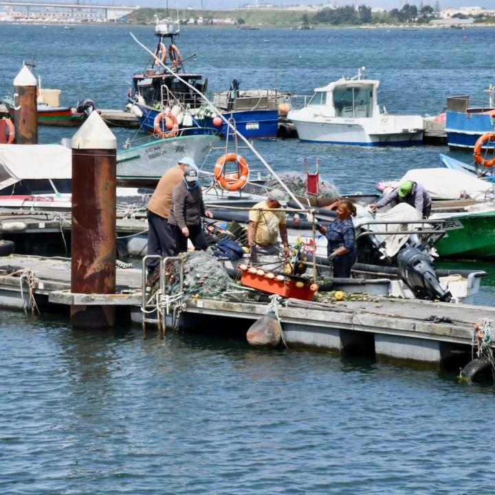 Costa Nova Portugal fisher men