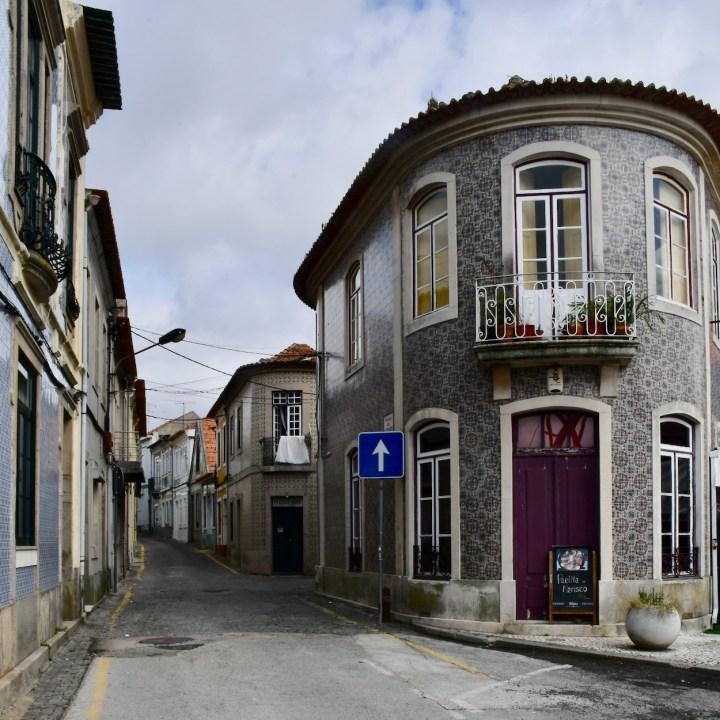 Aveiro Portugal local streetscape