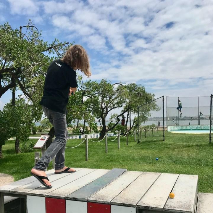 Costa Nova Portugal crazy golf
