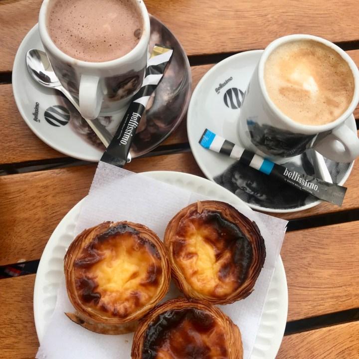 Costa Nova Portugal pasteis de nata