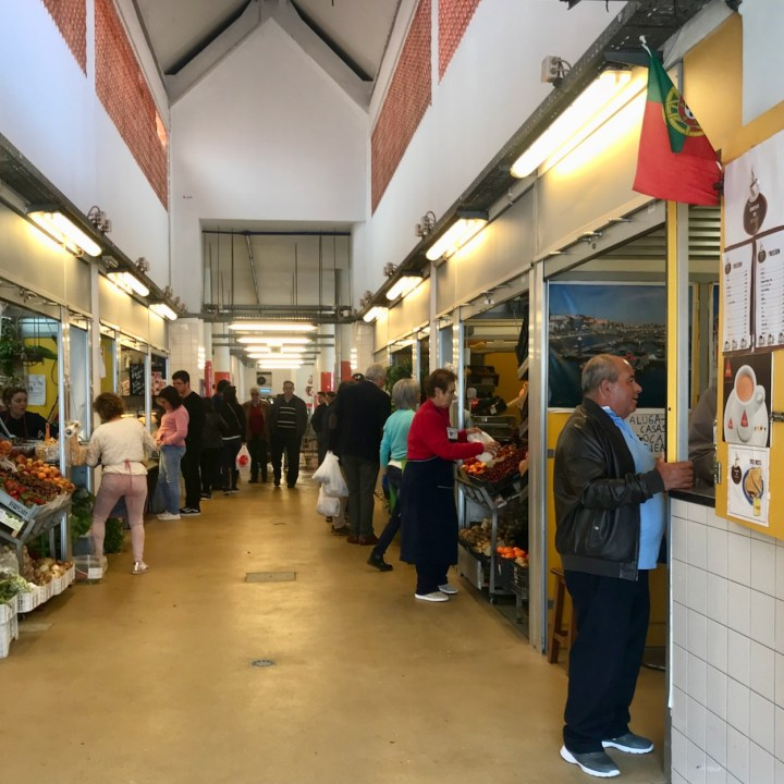 Costa Nova Portugal market hall