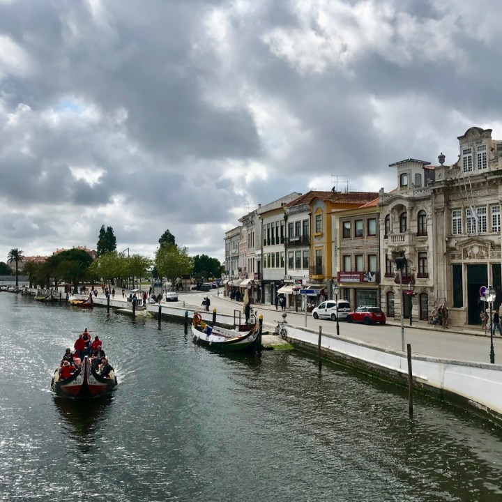 Aveiro Portugal canal boat tour
