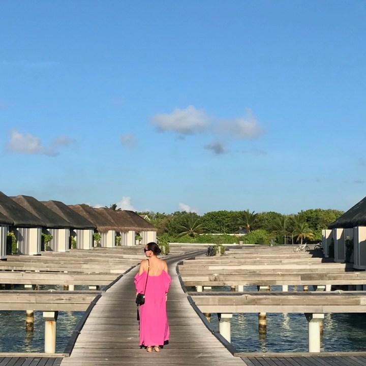 evening dress Maldives
