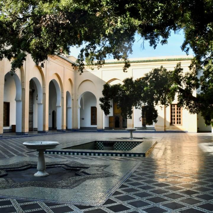 Batha Museum Fez courtyard
